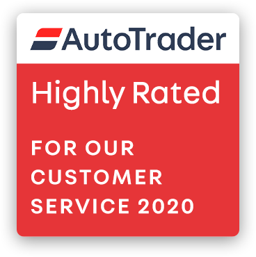 AutoTrader Highly Rated for our customer service 2020